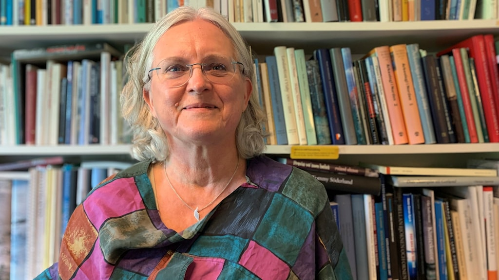Carina Norderäng, bibliotekarie Gråbobiblioteket