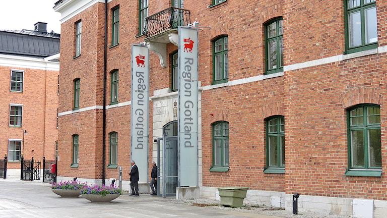 Region Gotland - rådhuset. Foto: Mika Koskelainen/SR Gotland