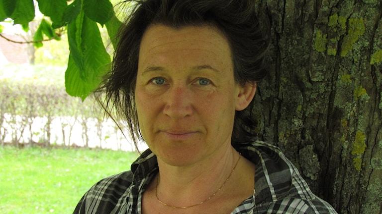Karin Kickan Holmberg. Foto: Lasse Eskelind/P4 Gotland Sveriges Radio