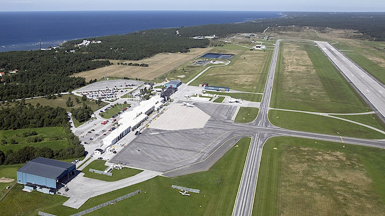 Sveriges största flygplatser - Visby flygplats