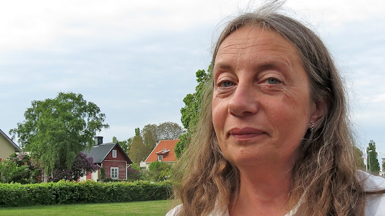 Lena Pasternak. Foto: Mika Koskelainen/SR Gotland