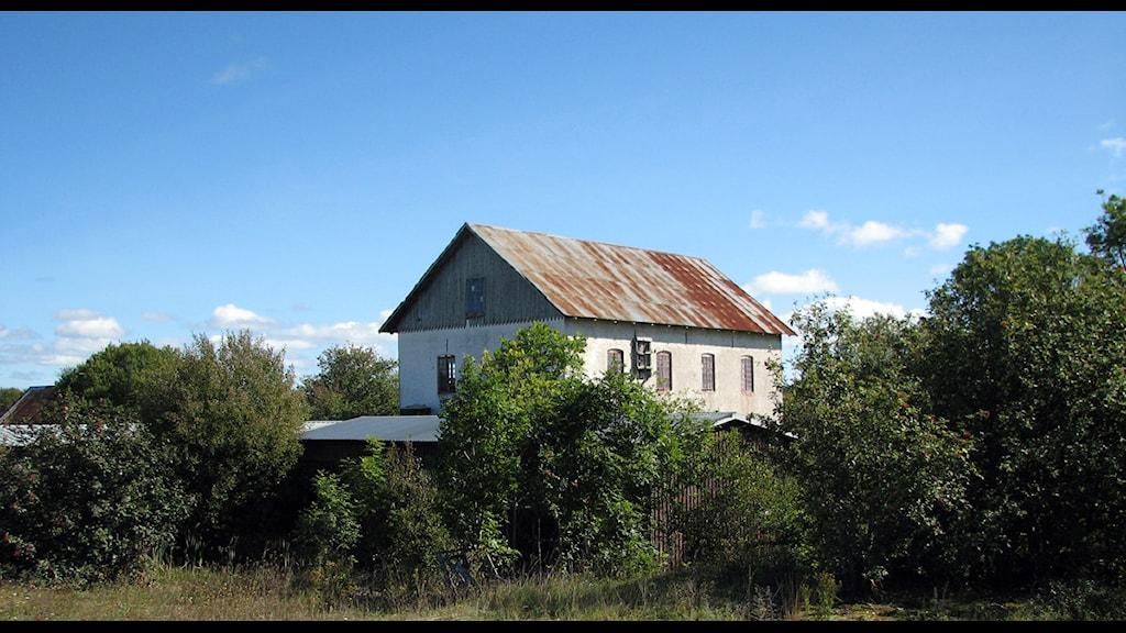 Vattenkvarnen i Ahr. Arkivfoto: Jonas Neuman/SR Gotland