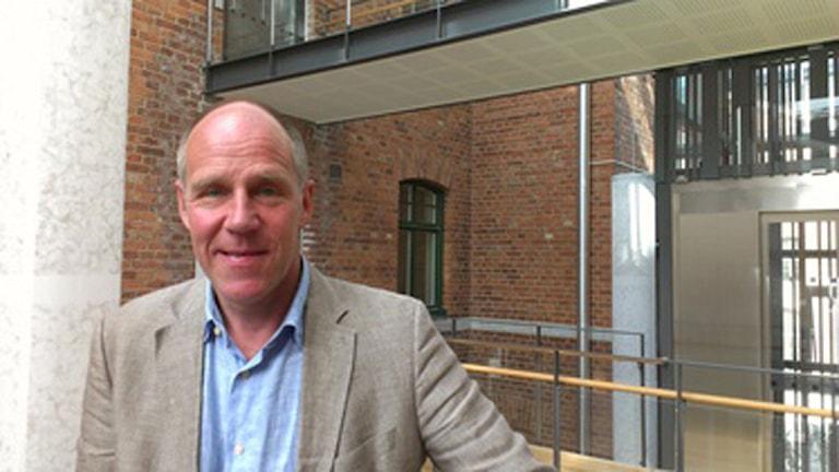 Patric Ramberg, ny teknisk direktör. Foto: Tomas Ängshammar Region Gotland