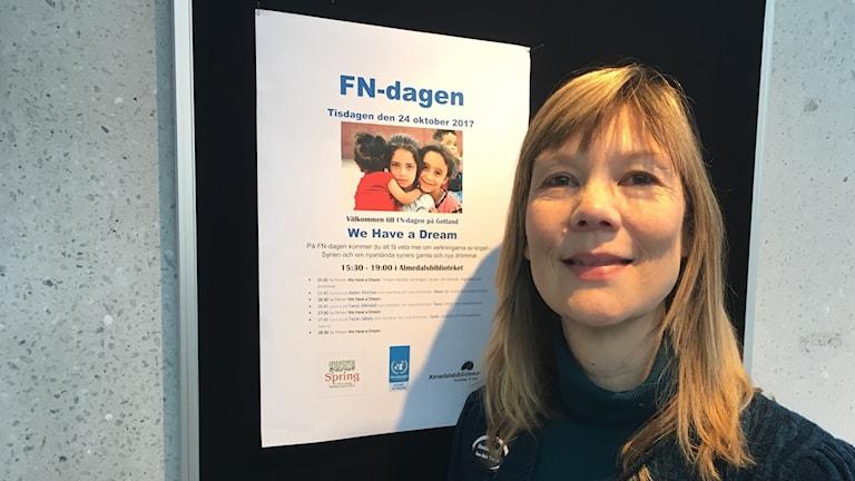 Rose-Marie Törnqvist programansvarig Almedalsbiblioteket