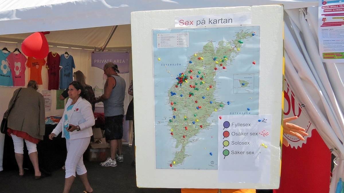 Rfsu Gor Karta Over Sex Pa Gotland Under Almedalen P4 Gotland