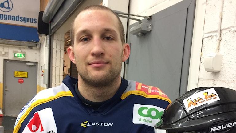 Adam Eriksson i Visby Roma