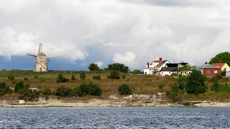 Slite från havet. Foto: Camilla Körkander/P4 Gotland