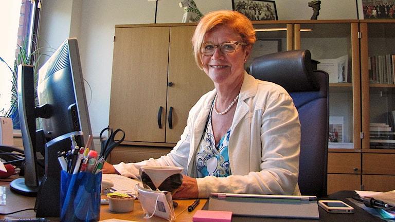 Landshövdingen har Sveriges bästa jobb, säger hon