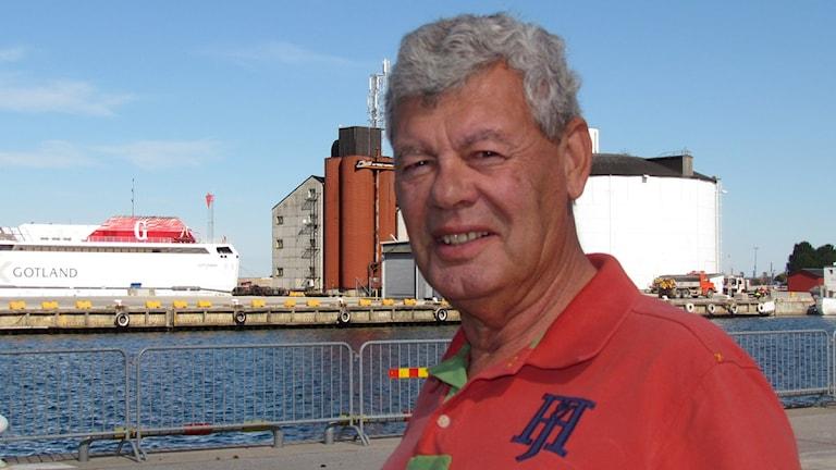 Lars Meijer. Foto: Jonas Neuman / SR Gotland