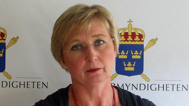 Åklagare Susanne Wihlborg. Foto: Jonas Neuman/P4 Gotland