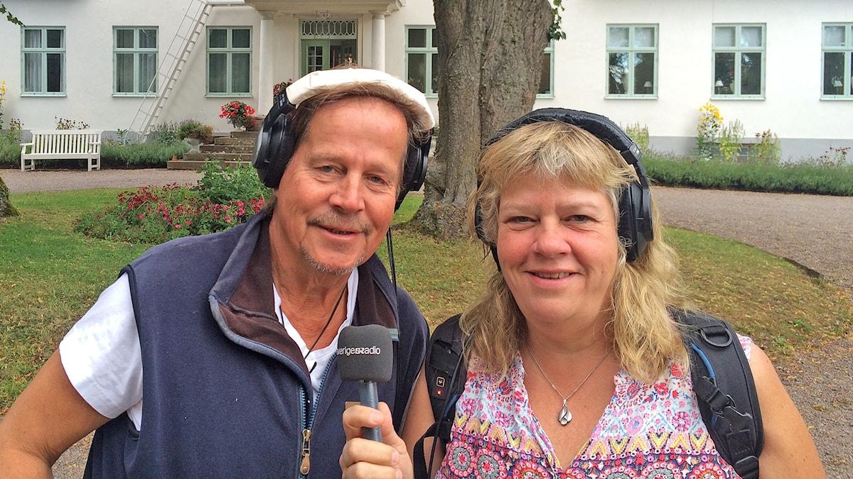 Tomas Ardin och Mari Winarve