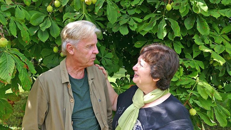 Göran Fristorp och Babben Larsson