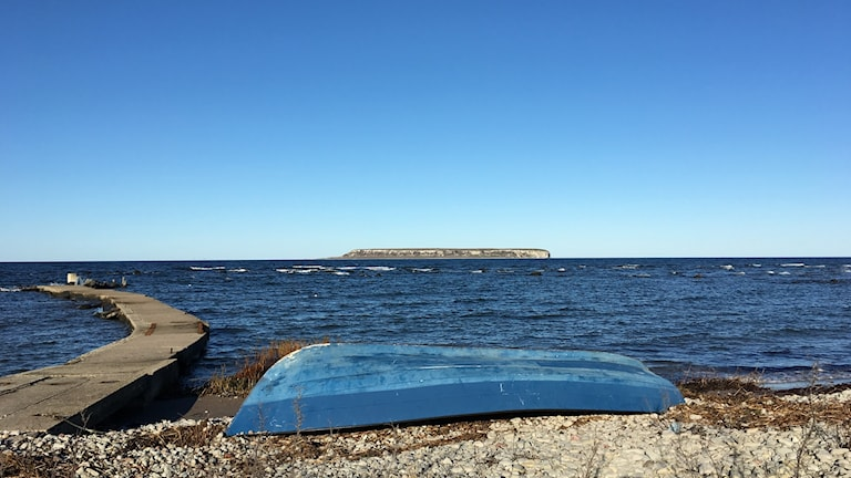 Ekstakusten vid Kronvalls fiskeläge.