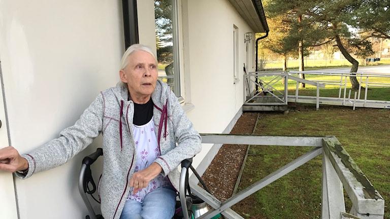 Inga-Karin Jakobsson i Stånga är besviken.