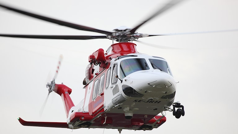 Sjöfartsverkets räddningshelikopter AW 139.