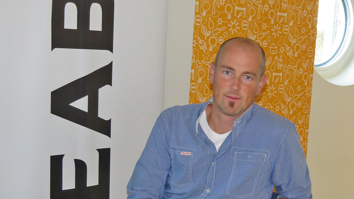 Björn Axelsson. Foto: Gunnel Wallin / Sveriges Radio P4 Gotland