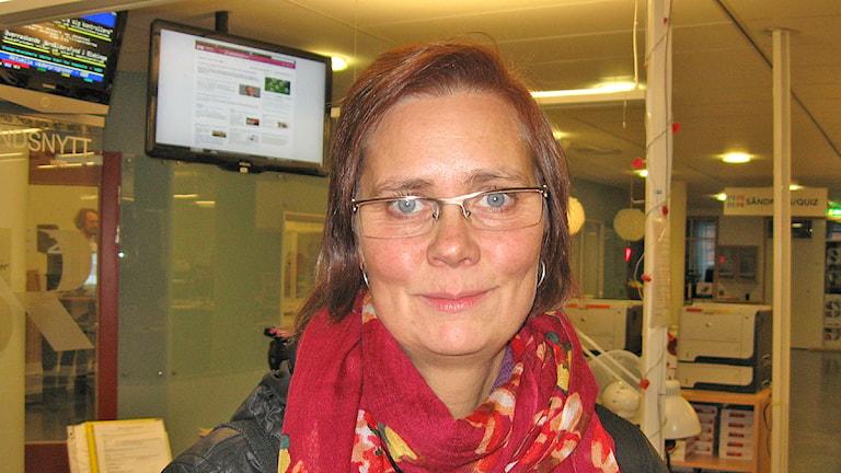 Åsa Brugård Konde. Foto: Lisa Helgesson / Sveriges Radio P4 Uppland