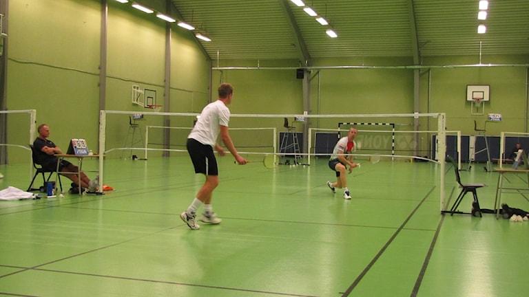 Björn Eriksson besegrade Robert Karlsson i finalen. Foto: Julia Kvarnberg SR/Gotland