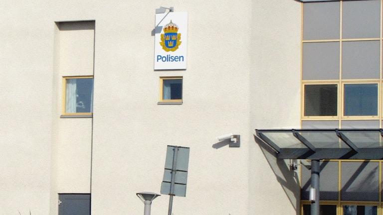 Polishuset i Visby. Arkivfoto: Mika Koskelainen/P4 Gotland Sveriges Radio