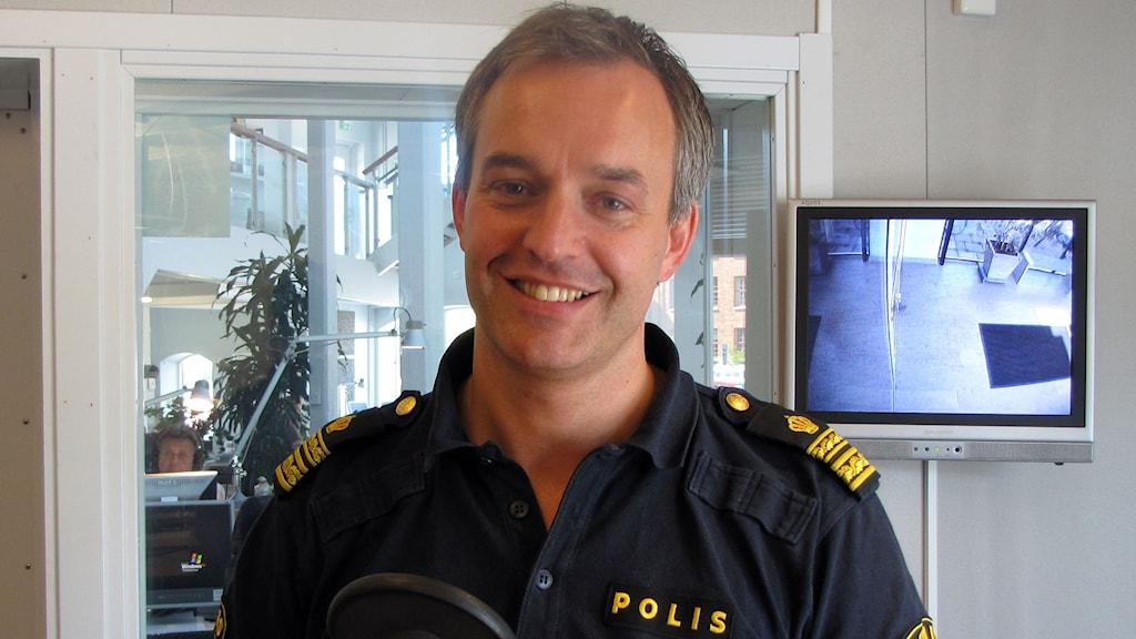 Magnus Holmén. Arkivfoto: Anna Jutehammar/P4 Gotland Sveriges Radio