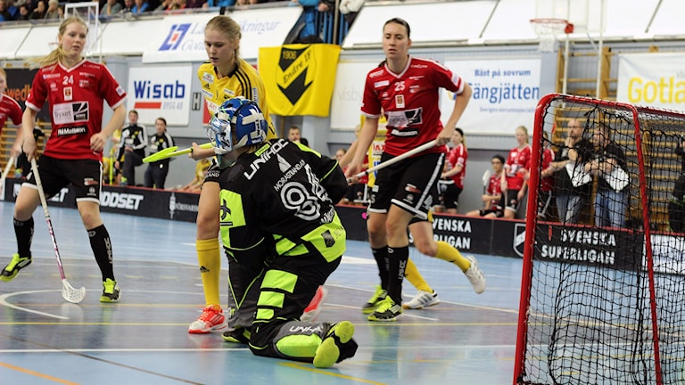 Hett framför mål när Endre spelar mot KAIS Mora hemma i Södervärnshallen.
