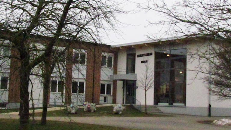 Solklintsskolan i Slite. Foto: Cristina Jardim Ribeiro / Sveriges Radio P4 Gotland