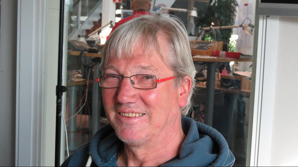 Ulf Broberg. Foto: Mika Koskelainen / Sveriges Radio P4 Gotland