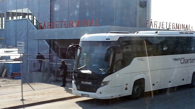 Båtbuss i Nynäshamn.
