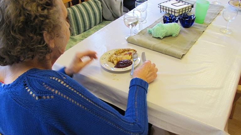 Serverat på äldreboende. Foto: Hanna Sihlman / Sveriges Radio P4 Gotland