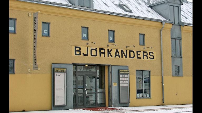 Baltic Art Center i Björkanderska huset i Visby hamn. Arkivfoto: Sveriges Radio P4 Gotland