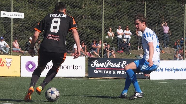 FC Gute mot Eskilstuna City FK på Rävhagen IP.