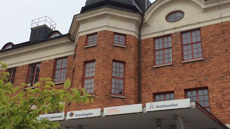 Skattehuset i Visby. Foto: P4 Gotland Sveriges Radio