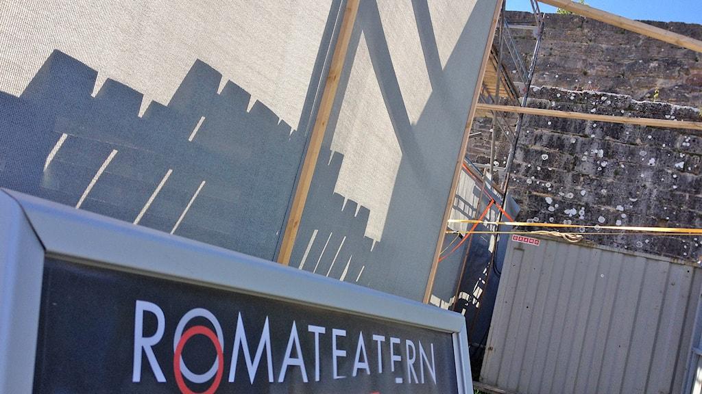 Romateatern. Foto: Mika Koskelainen/Sveriges Radio