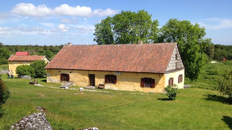 Strandridaregården i Kyllaj. Foto: Anna Jutehammar/SR Gotland
