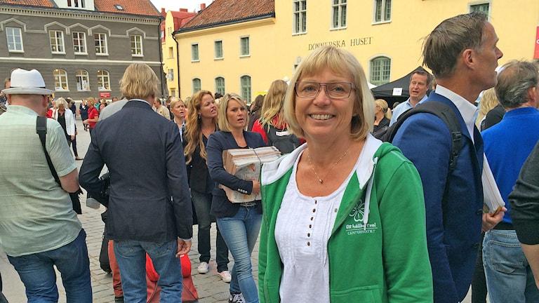 Eva Nypelius. Foto: Hanna Sihlman/Sveriges Radio