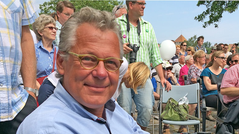 Johan Thomasson. Foto: Hanna Sihlman/Sveriges Radio