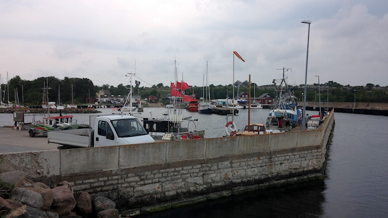 Herrviks hamn. Foto: Linnéa Hansson/P4 Gotland Sveriges Radio