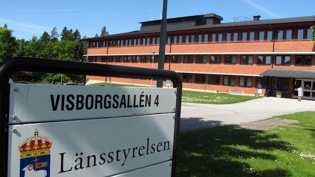 Länsstyrelsen på Gotland. Foto: Mika Koskelainen/Sveriges Radio