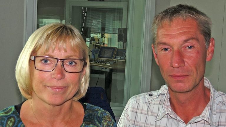 Eva Nypelius och Stefan Nypelius. Foto: Mika Koskelainen/Sveriges Radio
