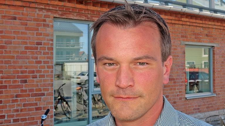 Gustaf Hoffstedt. Foto: Mika Koskelainen/Sveriges Radio