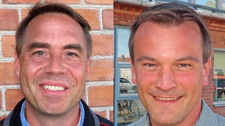 Christer Engelhardt och Gustaf Hoffstedt. Foto: Mika Koskelainen/Sveriges Radio