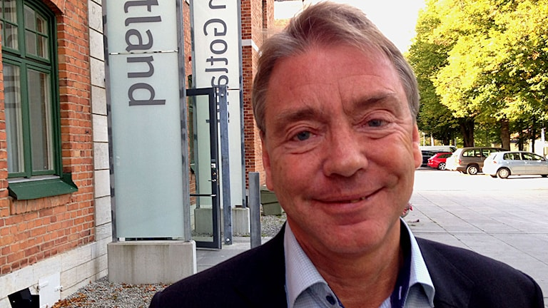 Gotlands regiondirektör Jan Björinge. Foto: Patrik Annerud/Sveriges Radio