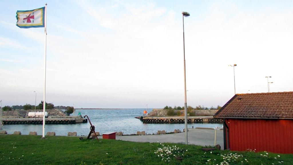 Vändburgs hamn. Foto: Jonas Neuman/Sveriges Radio