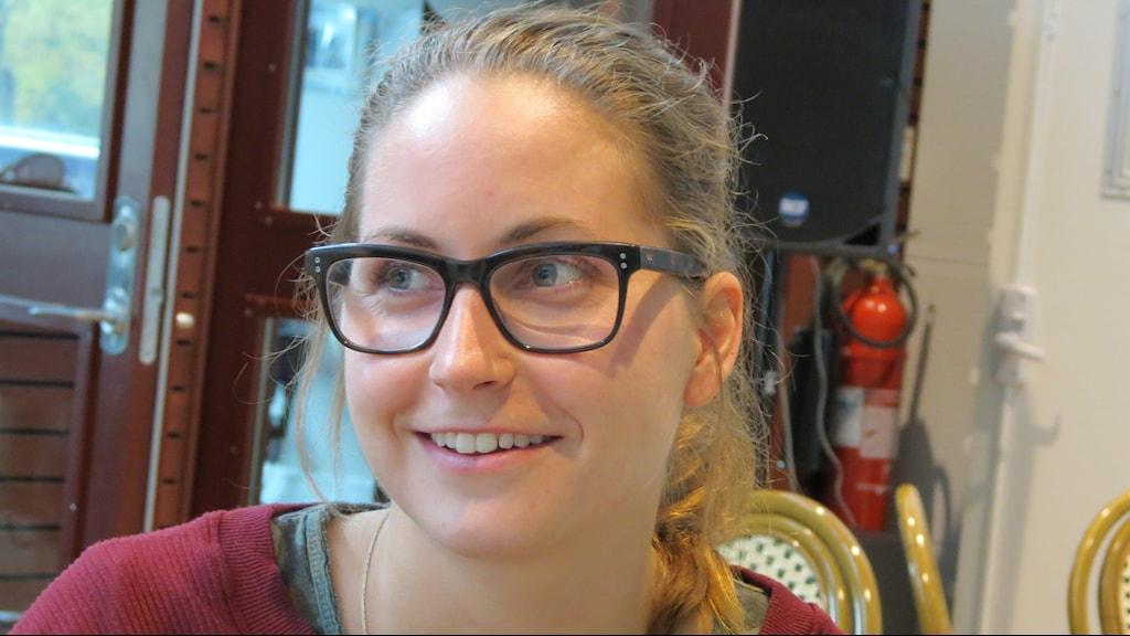 Tanja Stella. Foto: Lasse Eskelind/Sveriges Radio