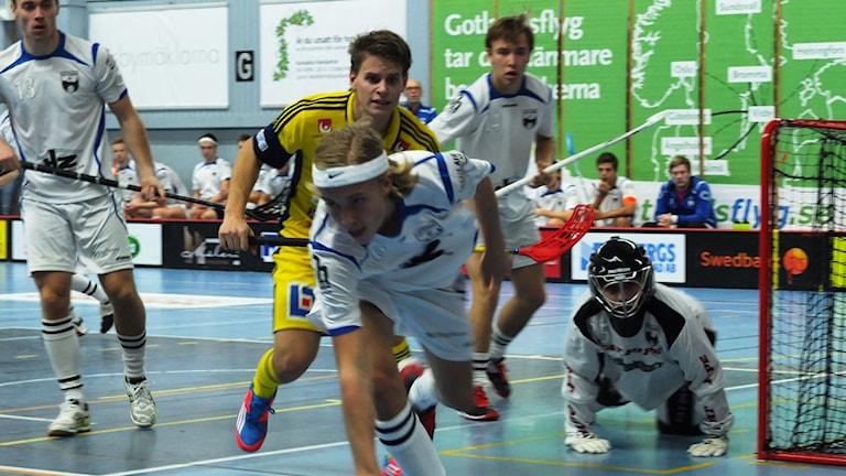 Visby IBK mot Gottsunda i Södervärnshallen.