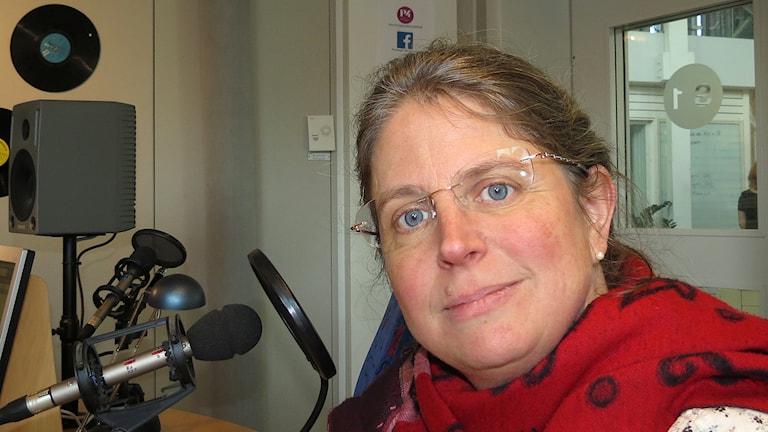 Anna Derwinger Hallberg. Foto: Mika Koskelainen/Sveriges Radio