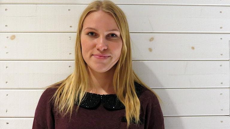 Olivia Ruthström. Foto: Jonas Neuman/Sveriges Radio
