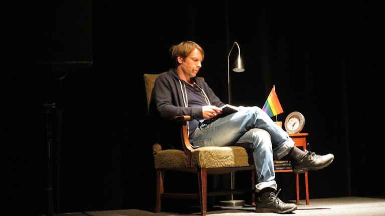 Herman Haglund. Foto: Håkan Erlandsson/Sveriges Radio