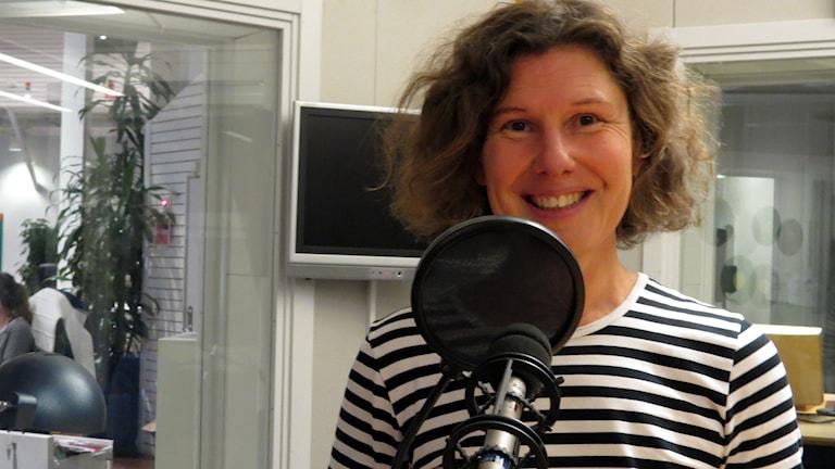 Anna Lytsy. Foto: Jonas Neuman/Sveriges Radio