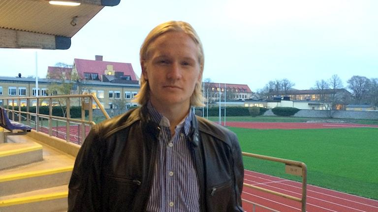 Henrik Löfkvist. Foto: Hanna Sihlman/Sveriges Radio